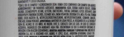 sedal - Ingredients - en