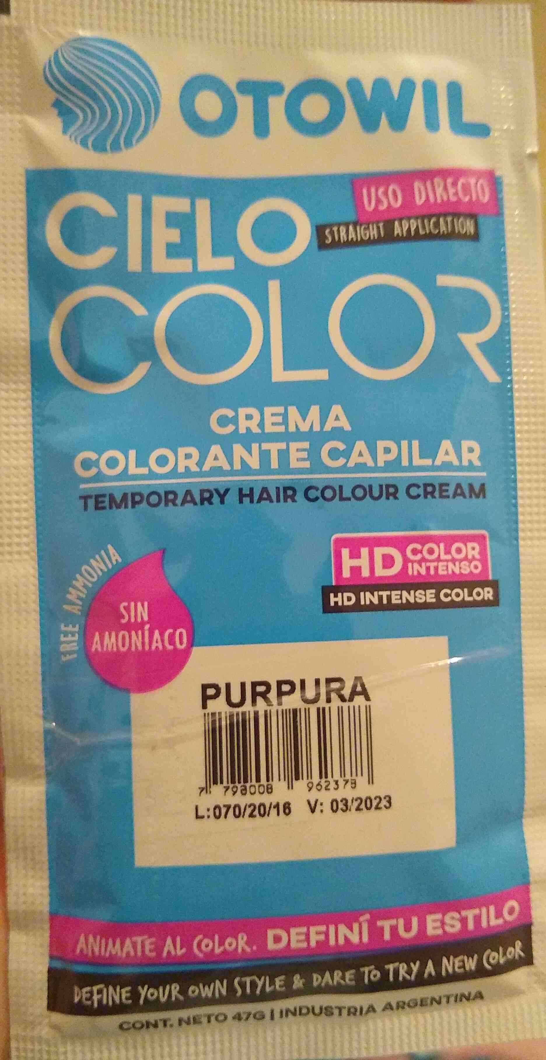 tintura otowil color purpura - Product - en