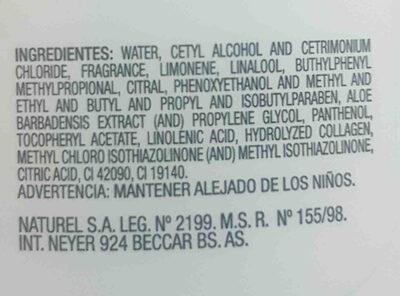 savia - Ingredients - en