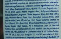 Detox Purificante - Ingredients - es