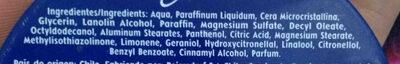 Nivea - Ingredients - en