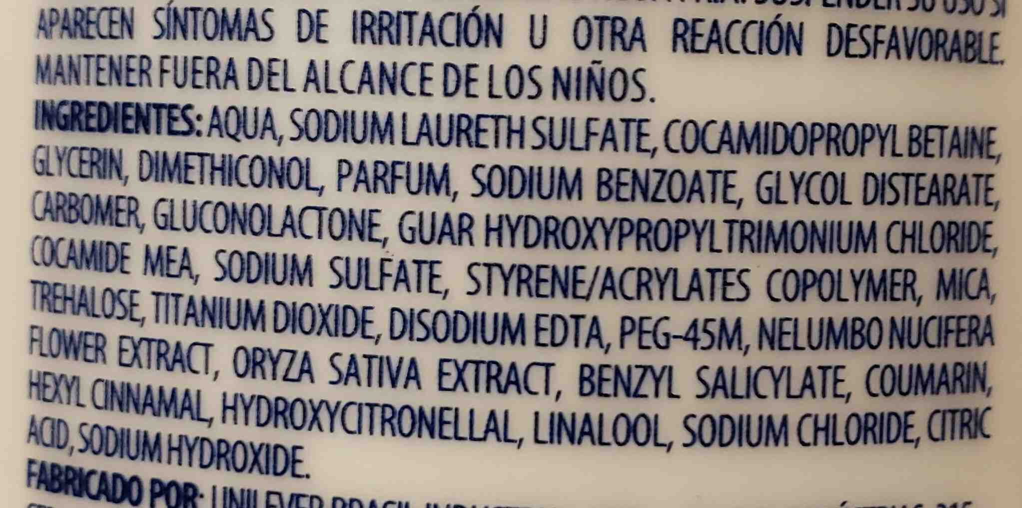 dove - Ingredients - en