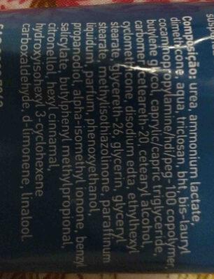 creme de ureia needs - Ingredients - en