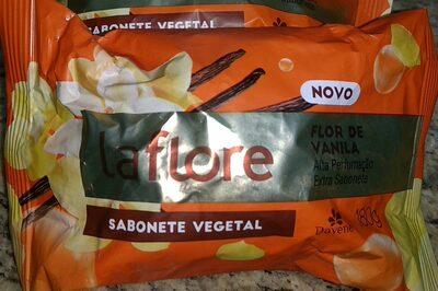 Sabonete vegetal La Flore - Flor de vanila - 1