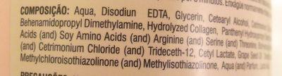 DESMAIA CABELO - Ingredients
