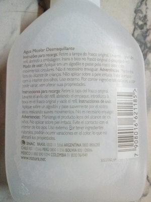 Agua Micelar Desmaquillante Natura - Product