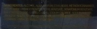 KAIAK Urbe - Ingredients - es