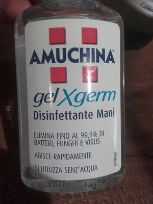 Gel Xgerm disinfettante Mani - Product