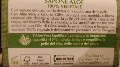 Aloe, detersione naturale - sapone 100% vegetale - Product - en