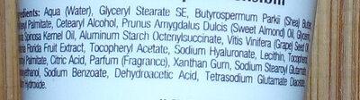crema viso nutriente all'argan - Ingrédients - it