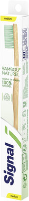 Signal Brosse à Dents Bambou Naturel Medium x1 - Product - fr