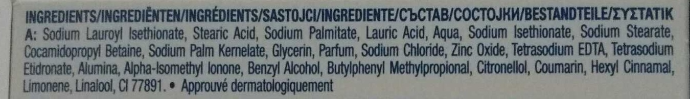 Beauty Cream Bar - Ingredients