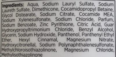 PRO-V Anti-Schuppen Shampoo - Ingredients - de