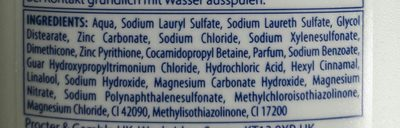 Shampoing 2en1 classic - Ingredients