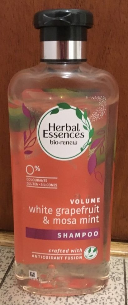Shampoo volume white grapefruit & mosa mint - Produit
