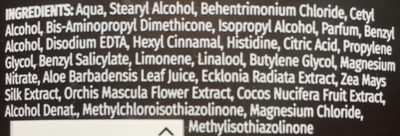 Acondicionador Hidrata Leche de Coco - Ingredients