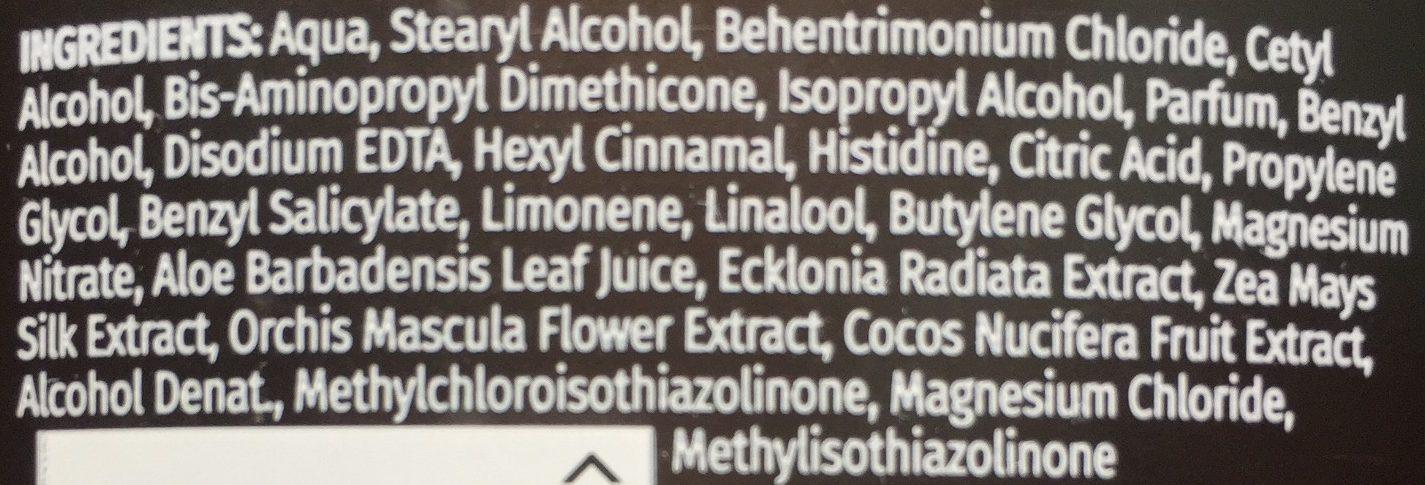 Acondicionador Hidrata Leche de Coco - Ingredients