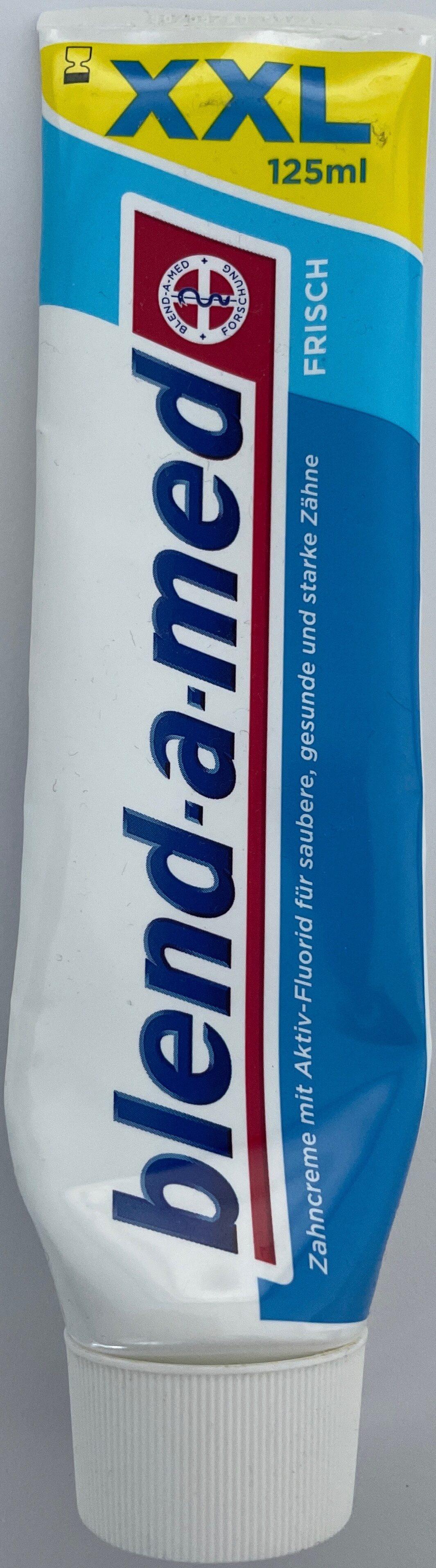 Zahncreme mit Fluorid - Product - de