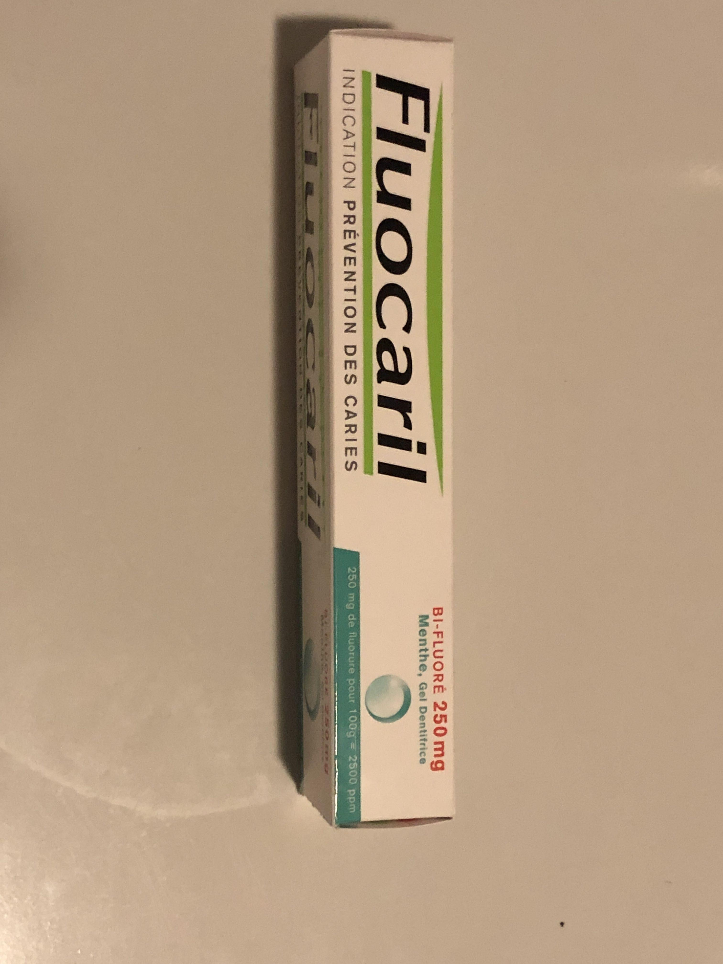 Gel dentifrice menthe bi-fluoré - Product - fr