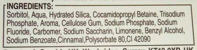 Fluocaril - Ingredients - fr