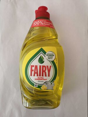 Fairy Ultra Konzentrat Zitrone - Produit - de
