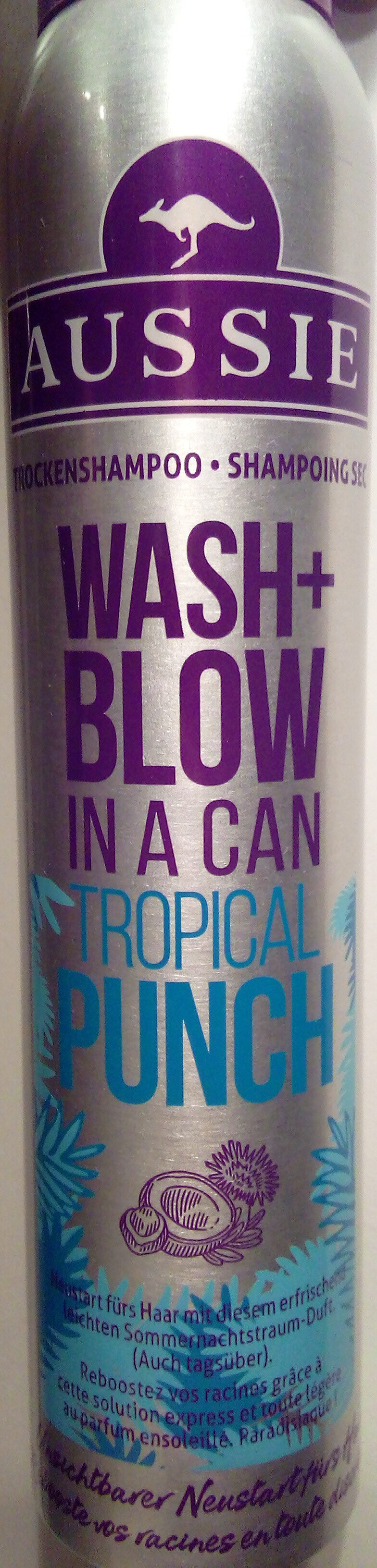 Wash+Blow in a can tropical punch - Product