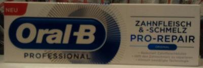 Oral-B PROFESSIONAL Zahnfleisch & -schmelz PRO-REPAIR ORIGINAL - Product