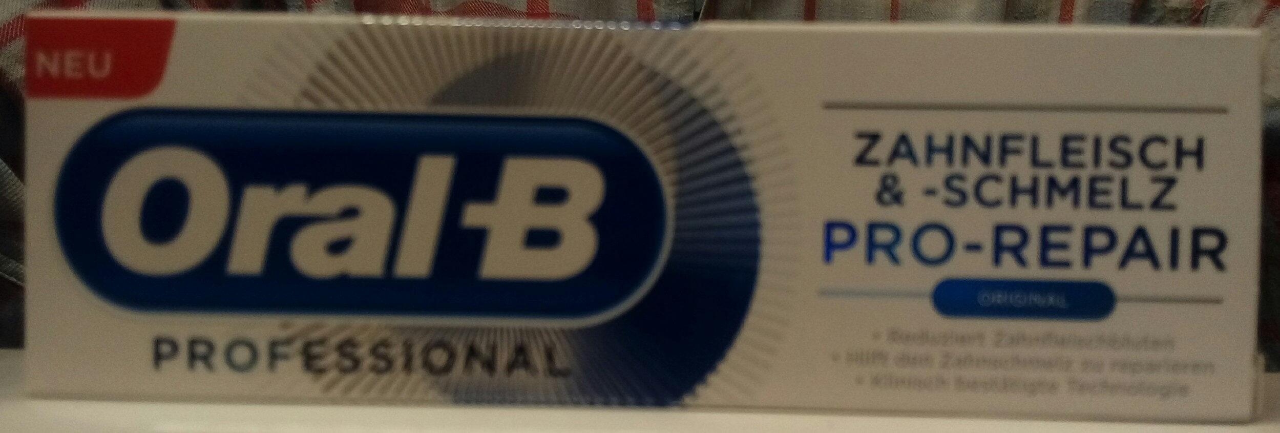 Oral-B PROFESSIONAL Zahnfleisch & -schmelz PRO-REPAIR ORIGINAL - Product - de