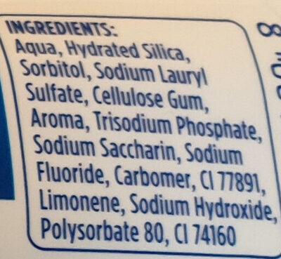 extra frisch clean - Ingredients