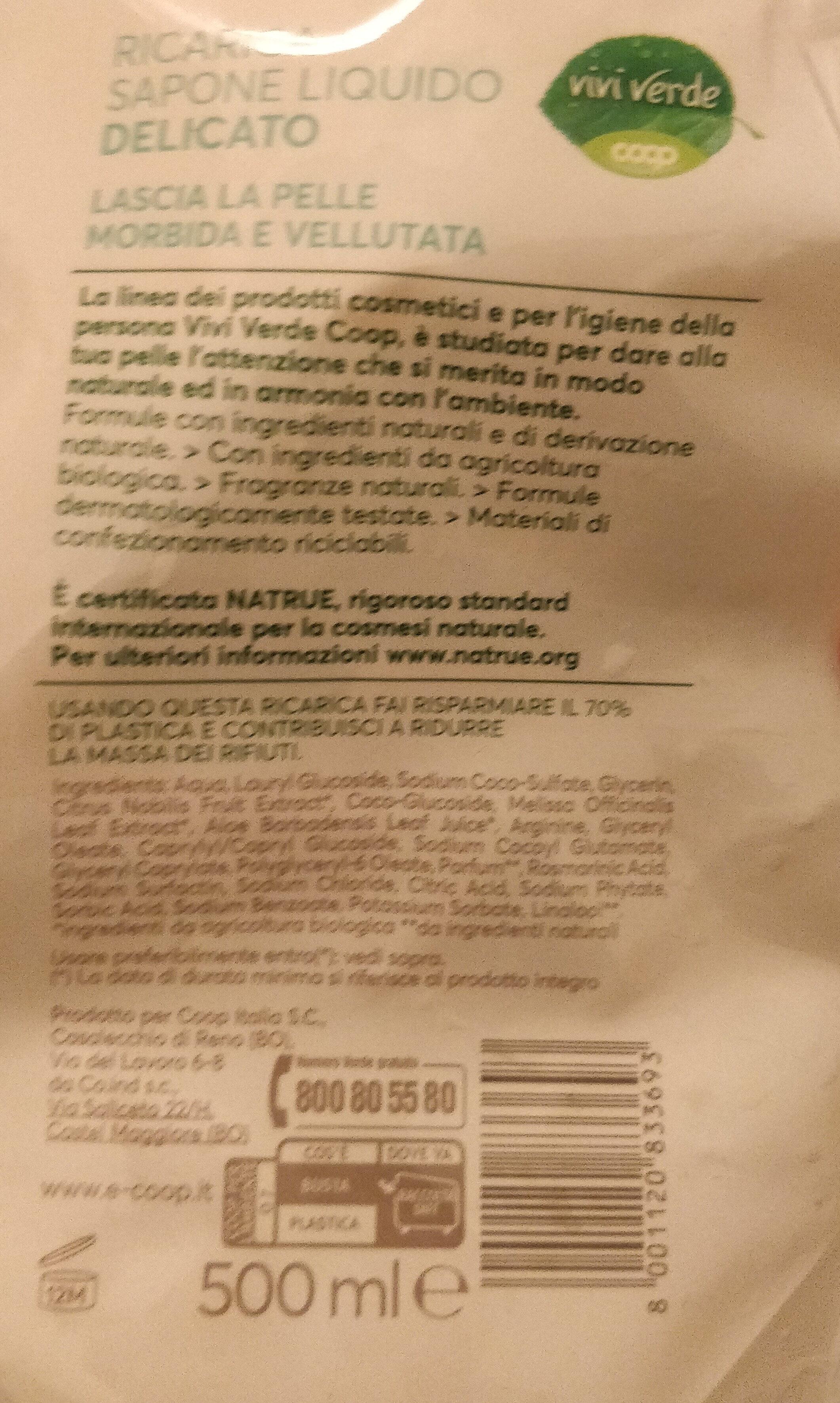Ricarica sapone liquido delicato - Product - en