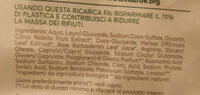 Ricarica sapone liquido delicato - Ingredients - it