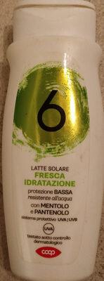 latte solare fresca idratazione protezione bassa 6 - Produit - it