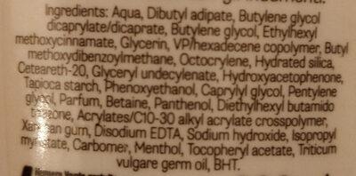 latte solare fresca idratazione protezione bassa 6 - Ingredients - it