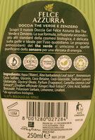 The verde e zenzero doccia gel - Product - en