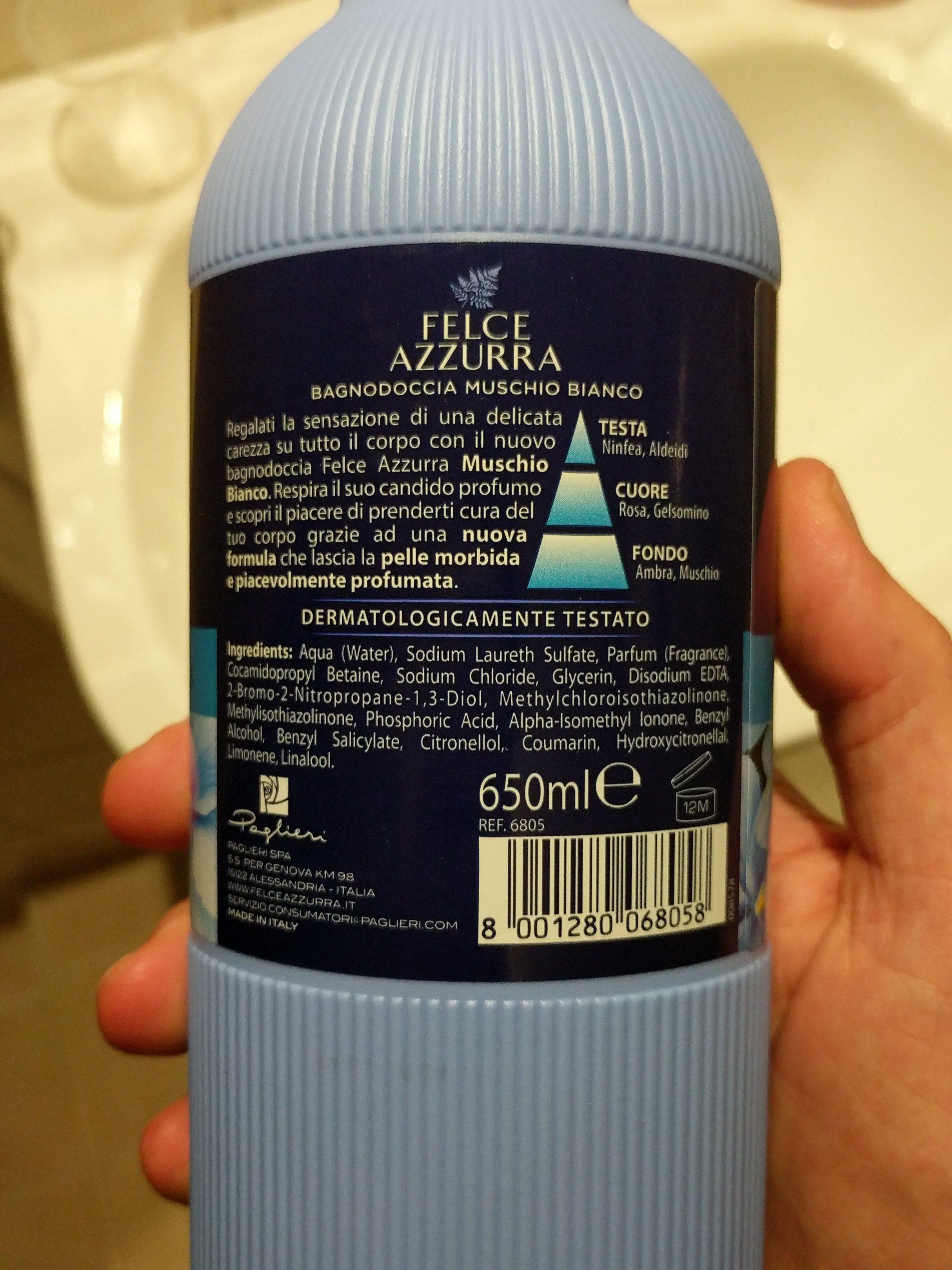 felce azzura - Ingredients - en