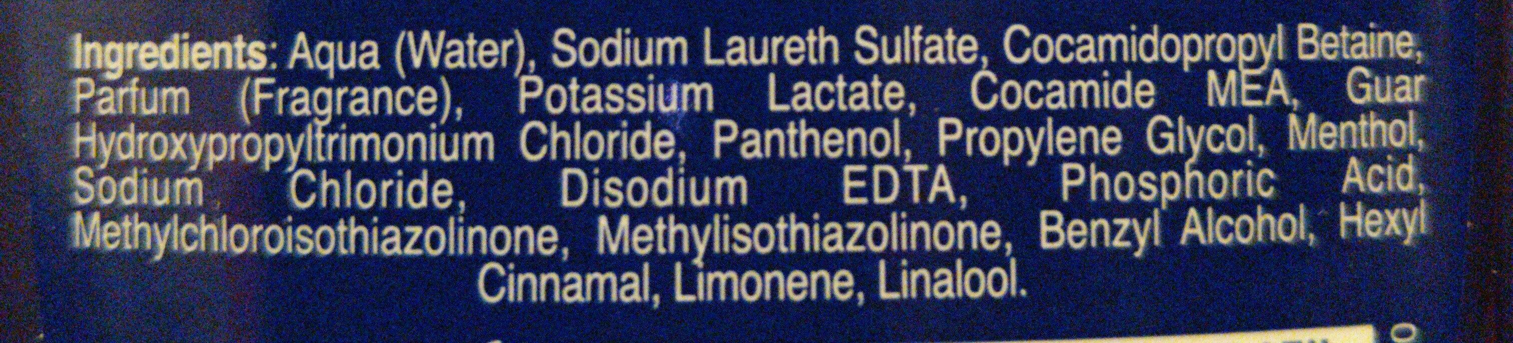 Fresh Ice - Ingredients - it
