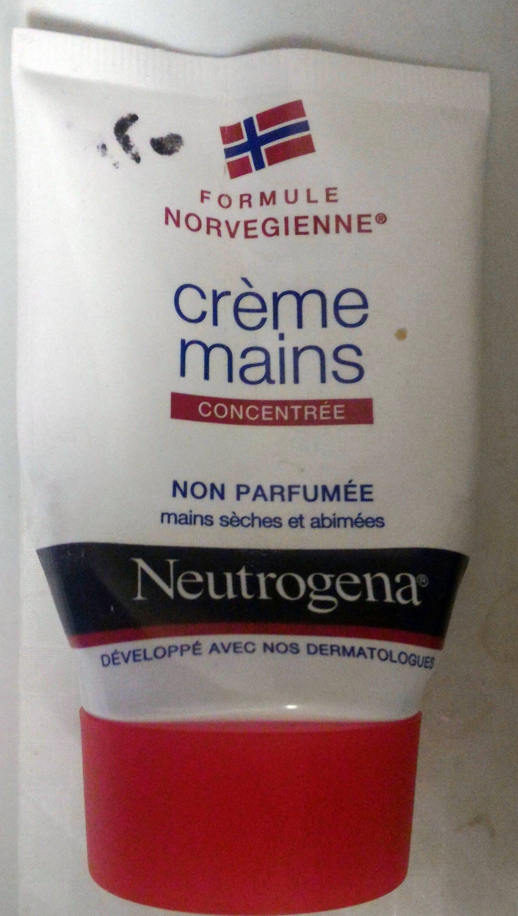 Neutrogena crème mains non parfumée - Product - en