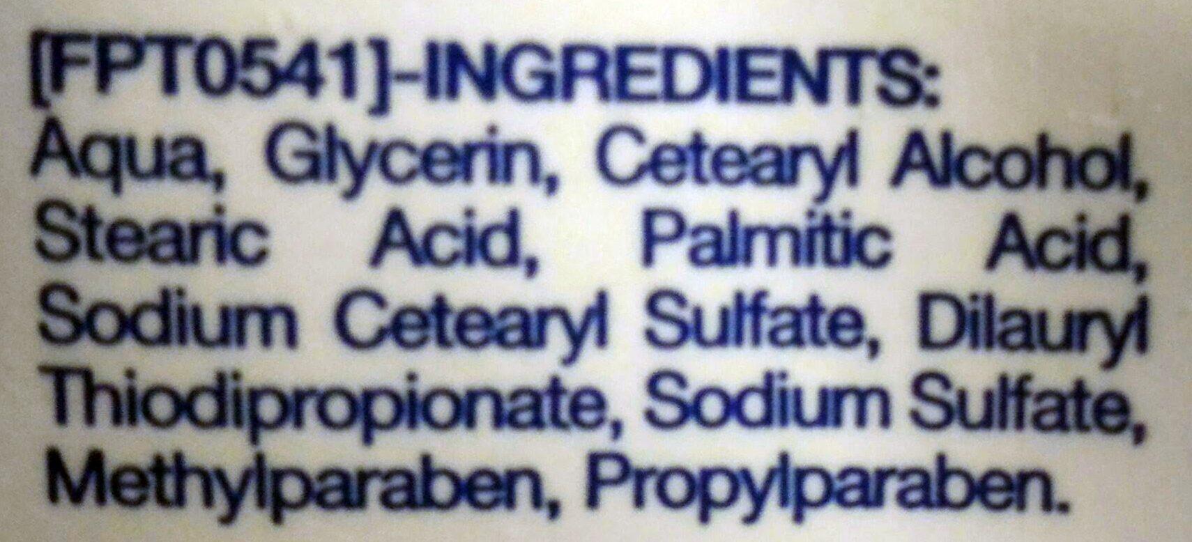 Neutrogena crème mains non parfumée - Ingrédients - fr