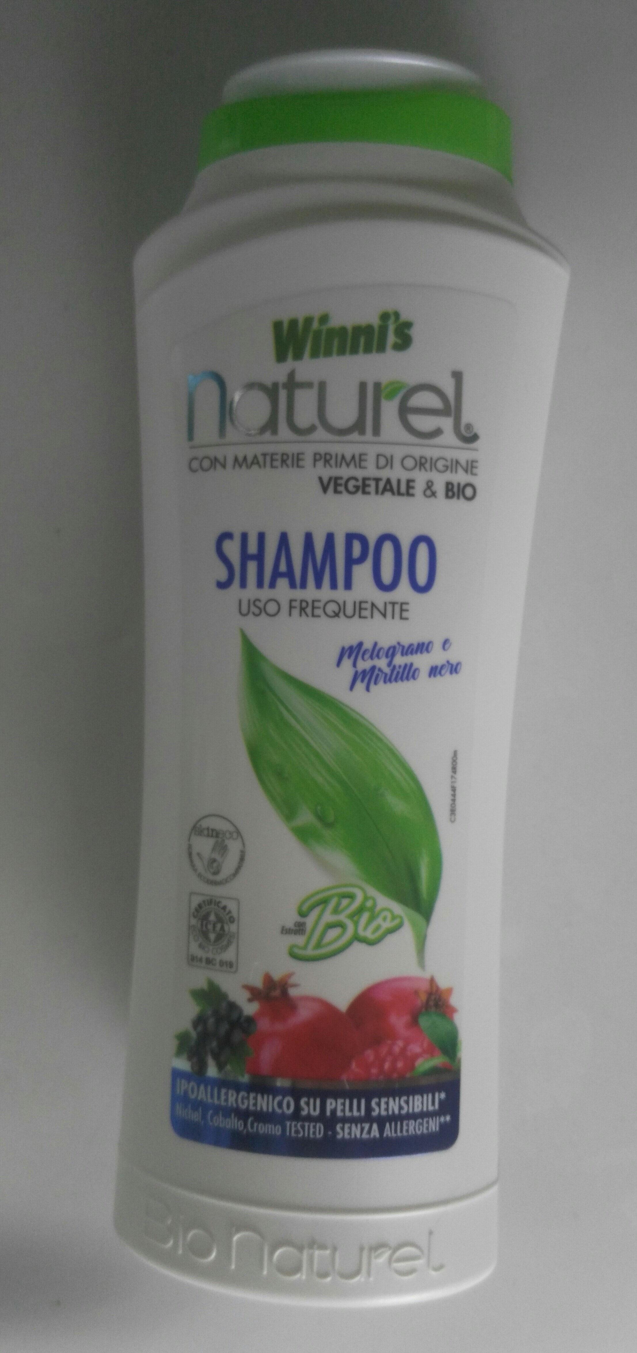 winni's naturel shampoo uso frequente melograno e mirtillo nero - Produit - it