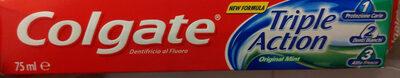 Colgate dentifricio triple action original mint - Produit - it