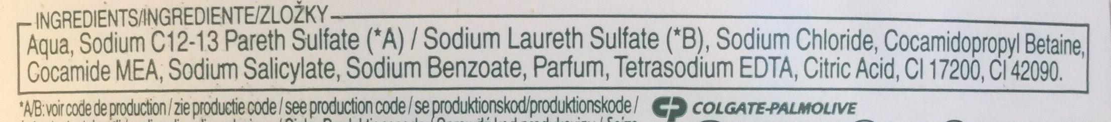 Aquarium - Ingredients