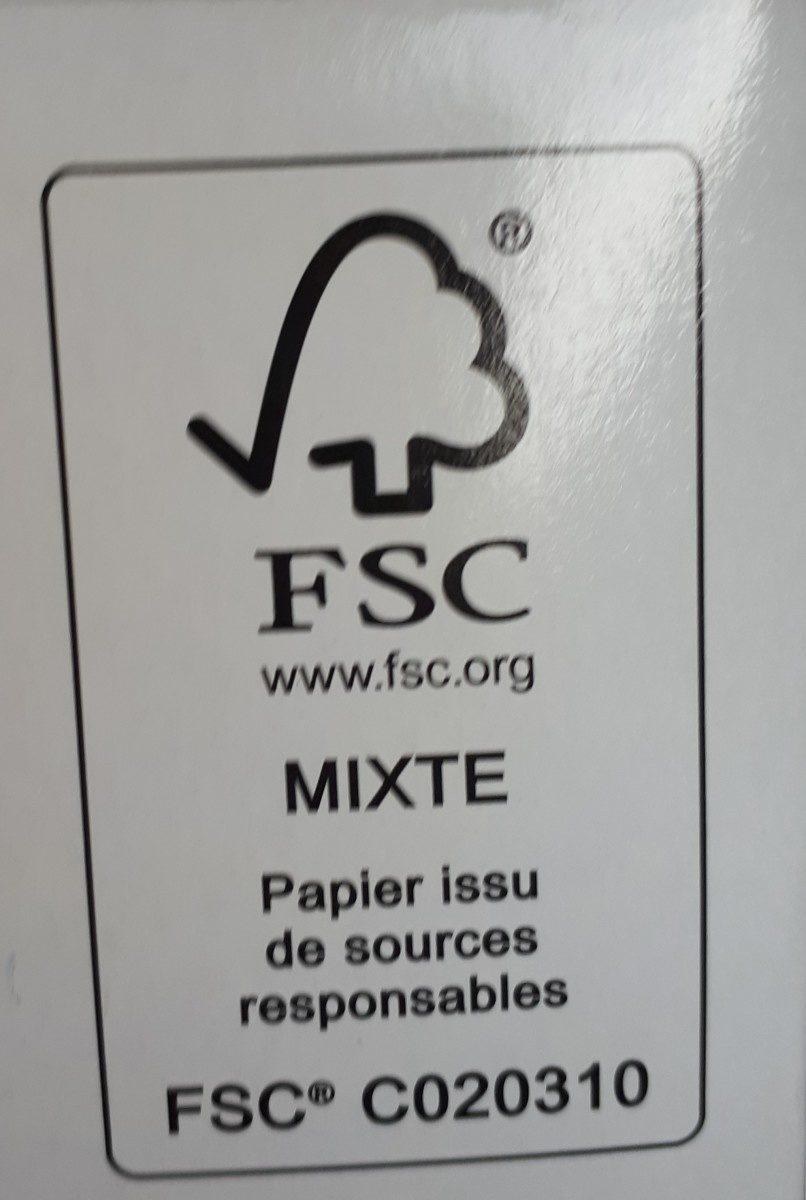 MOUCHOIR BLANC BOITE 150 FLOREX - Ingredients - fr