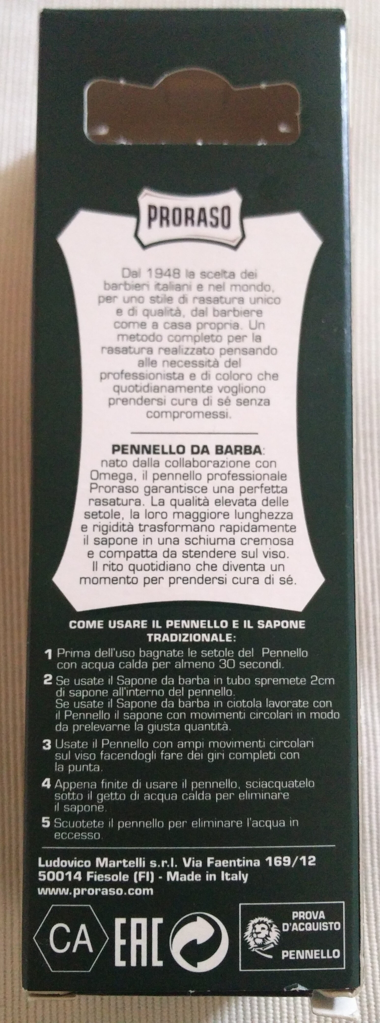 Pennello da Barba - Product - en