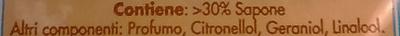 Sapone da bucato marsiglia - Ingredients