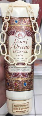 Crème douche Byzance Rose Noire & Labdanum - Produit