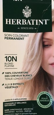 Soin Colorant Permanent 10N Blond Platine - Product - fr
