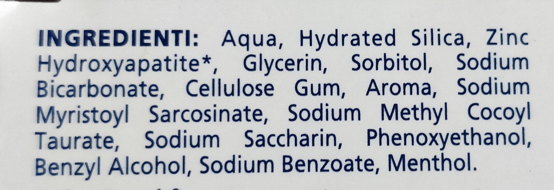 Desensibilizzante ripara smalto - Ingrédients - it