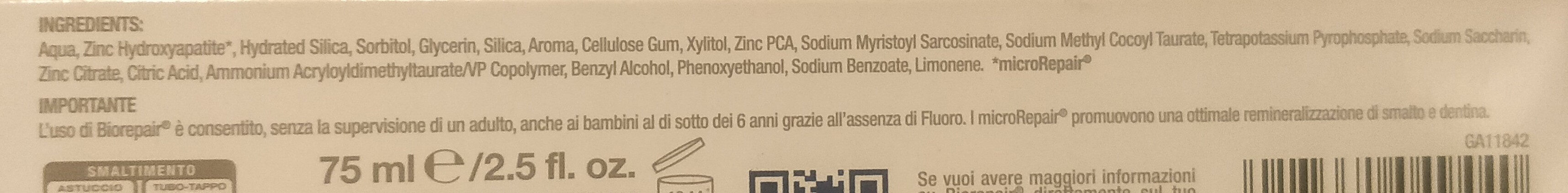 oral care pro - Ingredients - it
