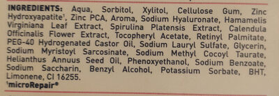 colluttorio ad alta densità protezione gengive - Ingredients - it
