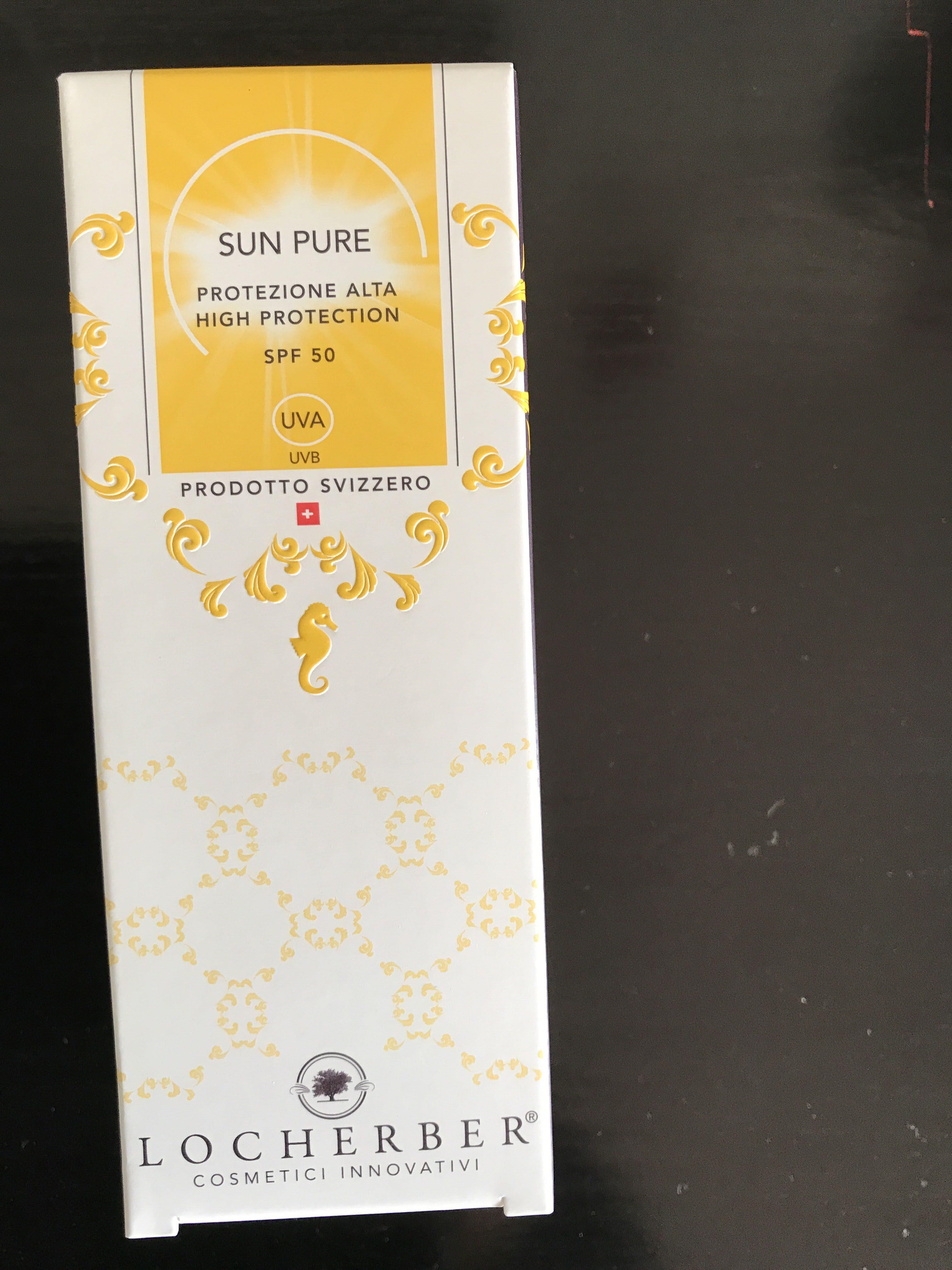 Sun pure  haute protection SPF 50 - Produit - fr